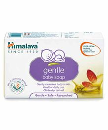 Himalaya Herbal Gentle Baby Soap - 125 gm