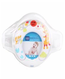 Mee Mee Soft Cushioned Potty Seat With Support Handles - White