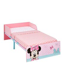 Disney Minnie Mouse Toddler Bed - Light Pink