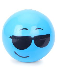 Karma Scented Ball Smiley Print - Aqua