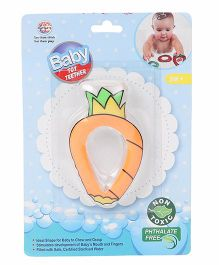 Ratnas Pineapple Shape Water Filled Teether - Peach