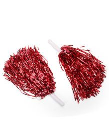 B Vishal Pom Poms Set of 2 - Red