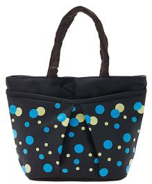 EZ Life Polka Dot Carry Bag - Black