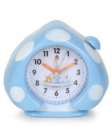 Alarm Clock Mushroom Shaped - Sky Blue
