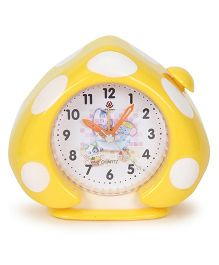 Alarm Clock Mushroom Shaped - Yellow