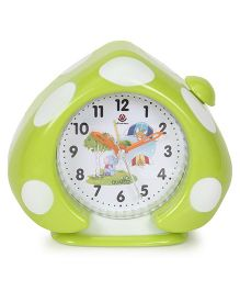 Alarm Clock Mushroom Shaped - Green