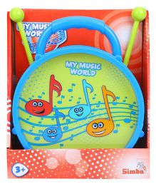 Simba My Music World Drum Toy - Blue