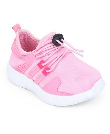 Cute Walk by Babyhug Slip On Sports Shoes - Pink
