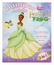 Disney Princess The Princess and The Frog - Fun with colours, Join the Dots, Activity
