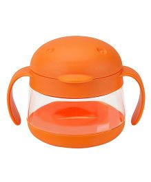 Ubbi Tweat Snack Container Orange - 250 ml