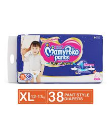 MamyPoko Extra Absorb Pant Style Diapers Extra Large - 38 Pieces