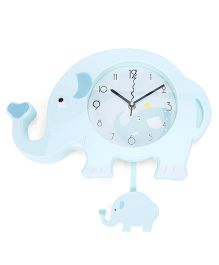 Analog Clock Light Blue (Design May Vary)
