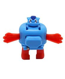 Fatak Patak Hound With Super Sault Action Figure Blue - 6.5 cm