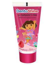 DentoShine Dora Gel Tooth Paste For Kids Raspberry Flavour