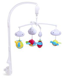 Mee Mee 3 In 1 Musical Rattle Cot Mobile - White