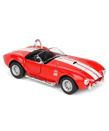 Kinsmart 1965 Shelby Cobra Die Cast Toy Car With Openable Doors - Red