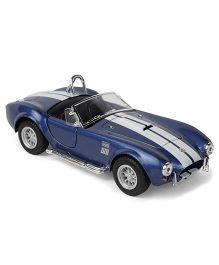 Kinsmart 1965 Shelby Cobra Die Cast Toy Car With Openable Doors - Blue