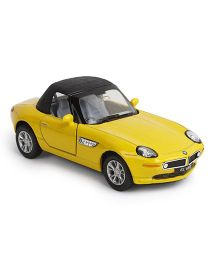 Kinsmart BMW Z8 Die Cast Toy Car With Openable Doors - Yellow