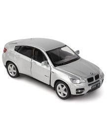 Kinsmart BMW X6 Die Cast Toy Car With Openable Doors - Grey