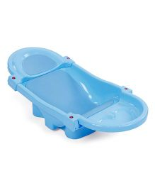 Mee Mee's Foldable and Spacious Baby Bath Tub - Blue