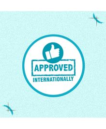 Mee Mee Simple Steps Musical Baby Walker - Light Blue