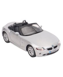 Kinsmart BMW Z4 Die Cast Pull Back Toy Car With Openable Doors - Silver