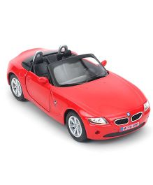 Kinsmart BMW Z4 Die Cast Pull Back Toy Car With Openable Doors - Red