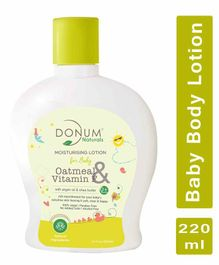 Donum Naturals Oatmeal & Vitamin F Healthy Skin Moisturizing Lotion For Babies - 220 ml