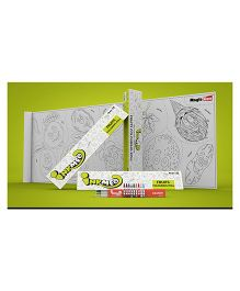 Inkmeo Reusable Fruits Colouring Roll