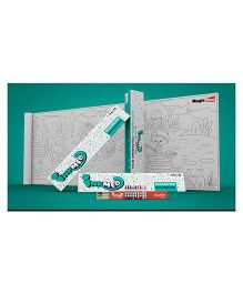 Inkmeo Reusable Occupation Colouring Roll