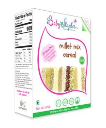 BabyStaples Millet Mix Cereal - 200 gm