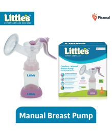 Little's Manual Breast Pump - Pink