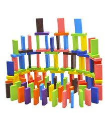 Webby Standard Authentic Wooden Domino Game - 120 Pieces