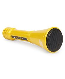 Hobby Lobby Karaoke Mic With Pouch - Yellow