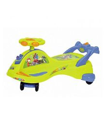Ehomekart Transformers Manual Push Twister Magic Car - Green