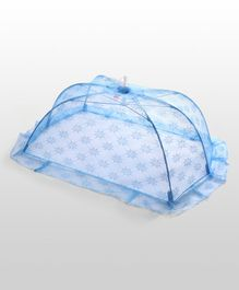 Babyhug Star Design Mosquito Net Small - Blue