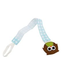 Babies Bloom Forest Friends Owl Pacifier Clip Pack Of 2 - Multi Color