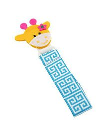Babies Bloom Giraffe Pacifier Clip Pack of 2 - Multi Color