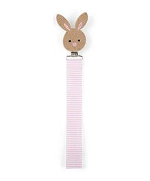 Babies Bloom Bunny Pacifier Clip Pack Of 2 - Multi Color