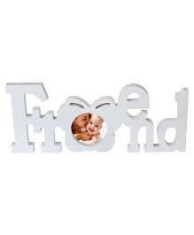 Babies Bloom Friend Themed Photo Frame - White