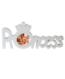Babies Bloom White Princess Photo Frame - White