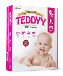 Teddyy Baby Premium Diapers  Extra Large Size - 30 Pieces