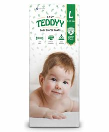 Teddyy Baby Easy Pants Large Size - 34 Pieces