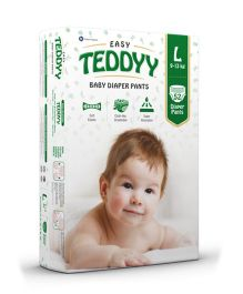 Teddyy Baby Easy Pants Large Size - 52 Pieces