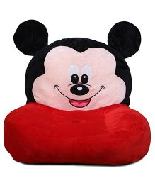 Babyoodles Plush Kids Couch Mickey Mouse - Red Black