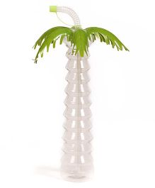 Babyoodles Sipper Bottle Coconut Tree Design Green - 500 ml