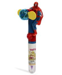 Baby Oodles 3 In 1 Writing Pen With 3D Spider Man - Red Blue