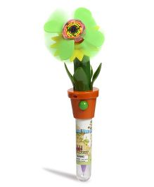 Baby Oodles 3 In 1 Writing Pen With 3D Flower - Green