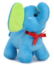 Benny & Bunny Elephant Soft Toy Blue - 20 cm