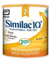 Similac IQ Plus Follow Up Formula Stage 2 - 400 grams